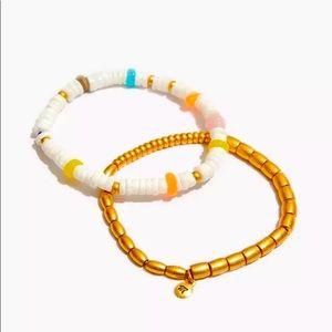 Madewell Puka Shell Stretch Bracelets